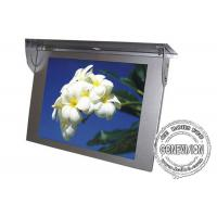 China Wall Mount Bus Digital Signage 21.5 Inch GPS Tracker Bus Media Player 3g / 4g on sale