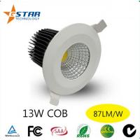 13W COB Led Recessed Ceiling Downlights Dimmable Avialalbe 240V Manufactures