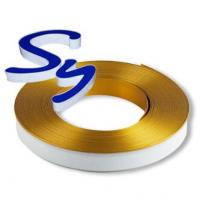 Acrylic Channel Letters Aluminium Trim Cap With PC And Foam Strip Manufactures