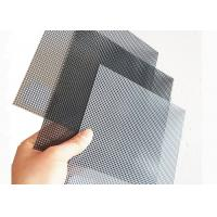 China 1200x2000MM Stainless Steel Wire Mesh With Black Color For Window Mesh Screen on sale