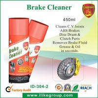 Professional Car Cleaning Chemicals , Safety ABS Brake Cleaner Spray 450ml Manufactures