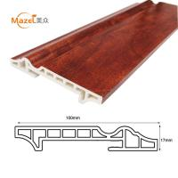 100mm interior decorative pvc flooring skirting Manufactures