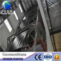 Quality HDPE geomembrane pond liner hdpe waterproof membrane for sale
