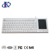 China Waterproof Backlit Silicone Keyboard 2- In -1 Touchpad Number Pad USB PS/2 Interface on sale