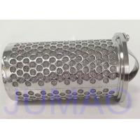 316 Stainless Steel Mesh Basket Filter Element For Industrial Liquid Filteration Manufactures