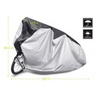 Outdoor / Indoor Bicycle Cover , Two Wheeler Bike Cover Lock Hole Design Manufactures