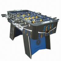 China MDF Superior Foosball Table, 9m MDF (E1) with Color Label Playing Field  on sale