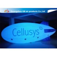 Safe And Environment Inflatable Helium Airplane , Inflatable Zeppelin Balloon for sale