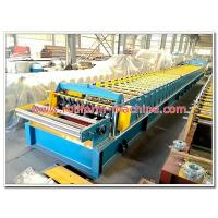 Metal Floor Decking Panel Cold Rollforming Production Line with Hydraulic Steel Cutting and Electric Rolling Machine Manufactures