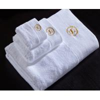 Hot Sale 100% Cotton Terry Face Towel /Embroided Hotel Face Towle/ Hand Towel Manufactures