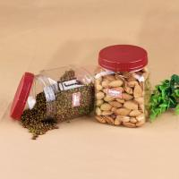 Eco - Friendly 20oz Square Pet Jar For Nuts Packaging 660ml  ISO 9001 Manufactures