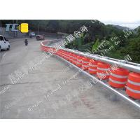 Red Color Safety Roller Barrier System Tunnel Opening For Bucket / Accident Car Manufactures