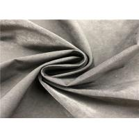 Plain Water Repellent Dyed Memory Fabric 13% Nylon 87% Polyester For Jacket Manufactures