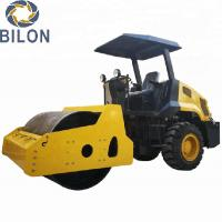 85kn Exciting Force Road Construction Machinery 6 Ton Single Drum Soil Power Road Roller Manufactures
