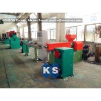 High Speed Automatic PVC Coating Machine For PVC Galfan Wire Coating Manufactures