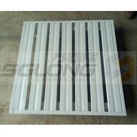2 Way / 4 Way Fireproof Stackable Metal Pallets Single Faced ISO9001 Certification Manufactures