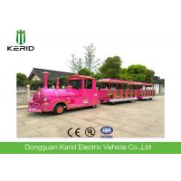Classic Design 42 Passengers Electric Mall Train With Colorful Body Appearance Manufactures