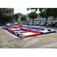 PVC Tarpaulin Inflatable Zorb Rump Outdoor Race Track With Digital Printing Manufactures