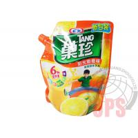 China PET / PE Liquid Spout Bags Plastic Food Package For Juice , top open automatic packing bag on sale