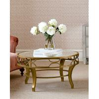 Luxury Round Center Table Stainless Steel Base Marble Mirror Top Coffee Tape Side Table Manufactures