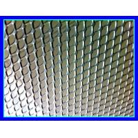 Indoor / Outdoor Aluminum Expanded Metal Mesh Panels For Ceiling Decoration for sale