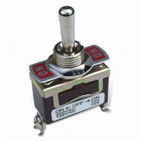 On/Off Toggle Switch, Used for Bilge Pump, Speed Selector and Light Manufactures