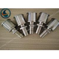 Single Johnson Screens Products Water Filter Nozzle High Filtering Performance Manufactures