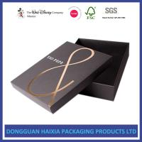 Foil Stamping Christmas Gift Boxes With Lids Recyclable Paper Set Up Boxes Manufactures
