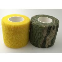 Elasticity Sports Bandage Tape 5cm Width Self Adjustment Non-Sticky To Skin Manufactures