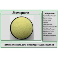 China Pharmaceuticals Raw Powder Atovaquone Yellow Crystalline Solid Powder CAS 95233-18-4 on sale