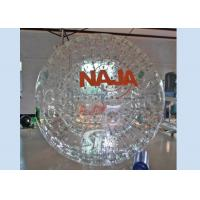 Giant cheap inflatable grass ball person inside with certificated PVC or TPU material Manufactures