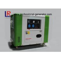 50Hz / 60Hz Air Cooling 4 Stroke 5.5kw Diesel Driven Generator Good Performance Manufactures