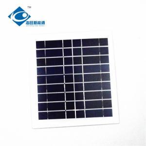 9V 4.5W Residential Solar Power Panels for solar garden light ZW-4.5W-9V Photovoltaic PV Solar Module for Folding Solar Manufactures