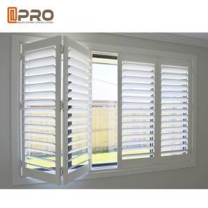 Adjust Light Aluminum Horizontal Louver Window With 10 Years Warranty