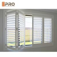 Quality Adjust Light Aluminum Horizontal Louver Window With 10 Years Warranty for sale
