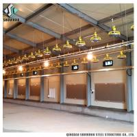 China Commercial Steel Frame Broiler Poultry Farm Shed Prefabricated Chicken House Designs For Sale on sale