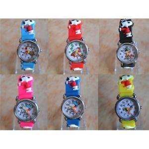 Disney snoopy children wristwatch 3D Kids gift watch Manufactures