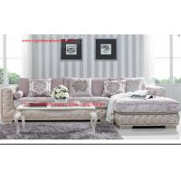 Quality Luxury Fabric Sofa set in 1+2+3 seat  used Rubber wood frame and Plywood with High density sponge infilled for sale