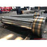 Piston Rod AISI 4140 steel Chromed Hydraulic Cylinder Components SGS Manufactures