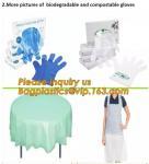 Corn starch PLA Biodegradable Compostable PBAT packaging products, EN13432,Food