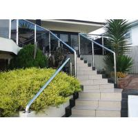 China Building Stainless Steel Balustrade , Stainless Steel Fence With Aluminum Alloy Materials on sale