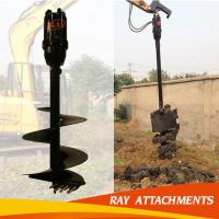 good quality post hole digger auger for excavator used Manufactures