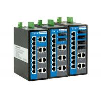 16 Port Industrial Ethernet Switch 3.2Gbps Switch Capacity For Smart City Manufactures
