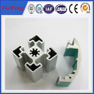 t slot aluminium profile manufacturer, white color industrial aluminium profile(extrusion) Manufactures