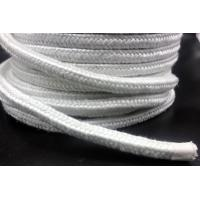 China Braided Fiberglass Rope Custom made Glass Fiber Rope For Fireproof, Color white on sale