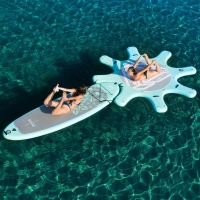 China Military Stand Up Paddle Board Inflatable Water Platform Island on sale