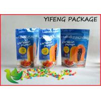 Stand Up Foil Food Packaging Bags With Resealable Ziplock 600g 1kg Manufactures