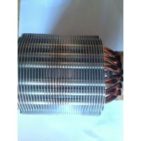 Customized Soldering Aluminum Copper Pipe Heat Sink For Tooling Manufactures