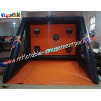 Customized Large 0.55mm PVC tarpaulin Inflatable Shoot Inflatable Sports Games for home Manufactures