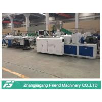 Blue Color Plastic Pipe Machine For UPVC Electrical Pipe Making Lower Consumption Manufactures